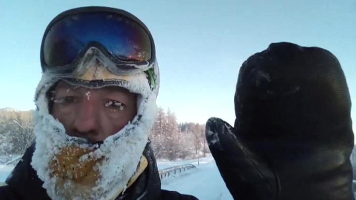 Из Магадана в Иркутск на велосипеде: вторая попытка испанского путешественника