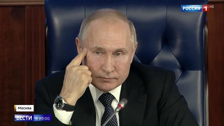"""""""Теперь догоняют нас"""": Путин рассказал об уникальном оружии России"""