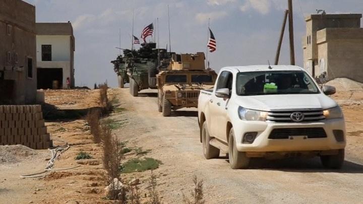 Военная база США на северо-востоке Сирии подверглась ракетному обстрелу