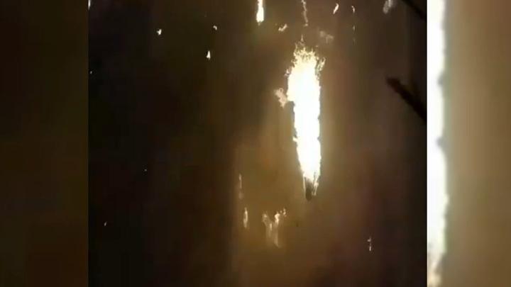 Камера зафиксировала момент взрыва украинского Boeing в Тегеране