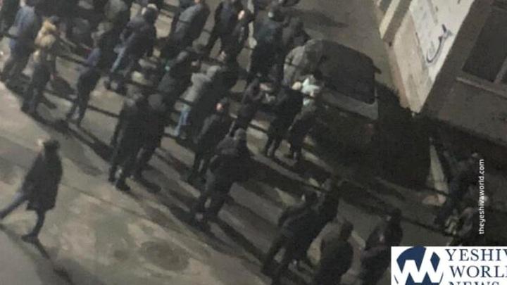 У могилы раввина Нахмана на Украине устроили массовое избиение евреев