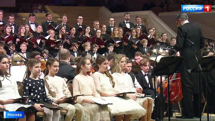 В столице стартовал музыкальный Рождественский фестиваль