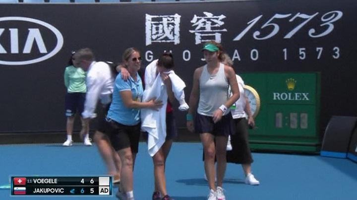 Дым на Australian Open помешал теннисисткам доиграть матч квалификации