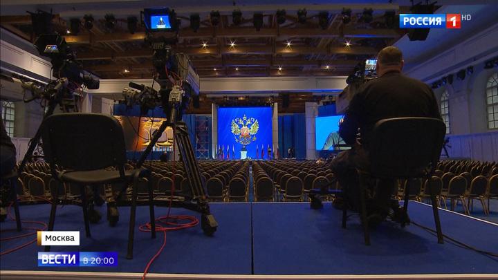 Повысить доходы: Путин поставит задачи на 2020 год в Манеже