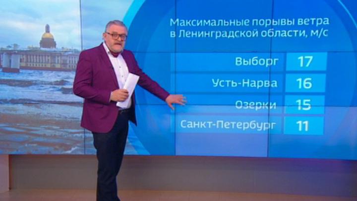 """""""Погода 24"""": Циклон Брэндан приближается к России"""