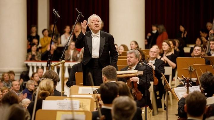 Юрий Темирканов и оркестр петербургской филармонии отправляются на гастроли в Испанию