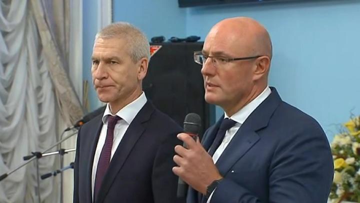 Вице-премьер Дмитрий Чернышенко представил нового министра спорта Олега Матыцина