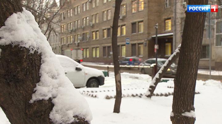 В столице выпал долгожданный снег