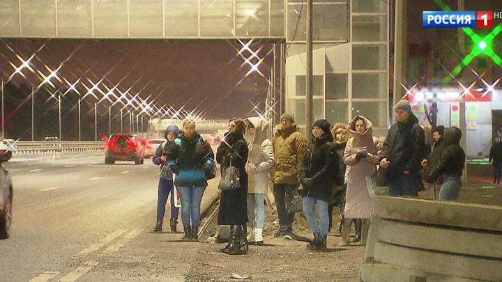 Жители Балашихи жалуются на отсутствие автобусной остановки