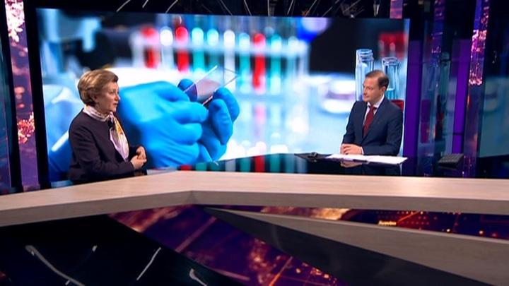 Попова рассказала о российском методе диагностики коронавируса