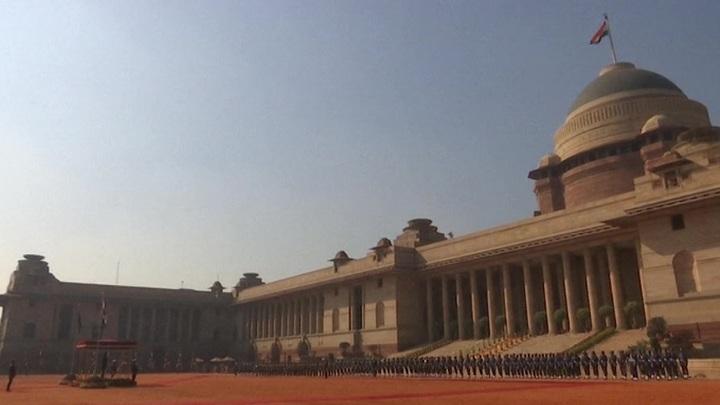 Индия отмечает юбилейный День Республики