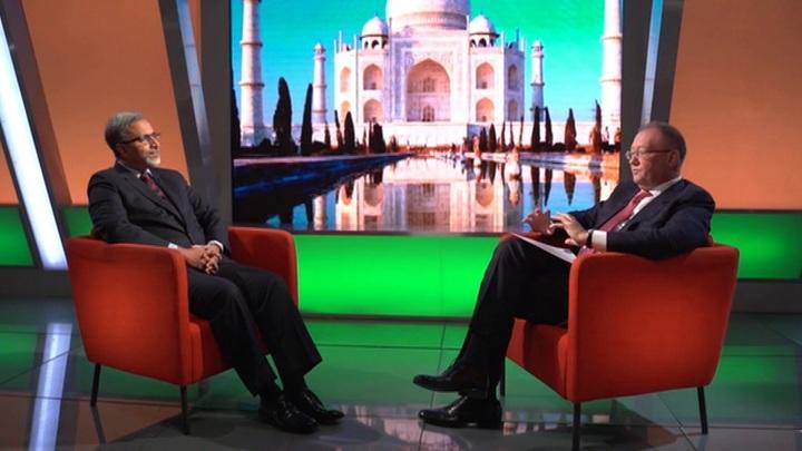 Глобальный разговор. Посол Индии в России Венкатеш Варма