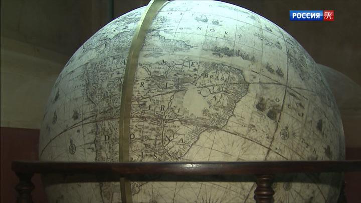 В постоянную экспозицию Исторического музея возвращается земной глобус Блау
