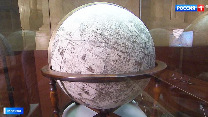 Глобусы семьи Блау: две картографические жемчужины XVII века в Историческом музее