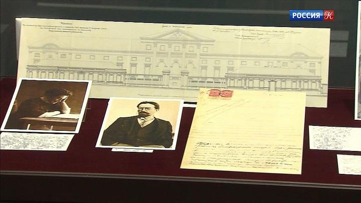 В Главархиве  Москвы открылась выставка, посвященная Чехову