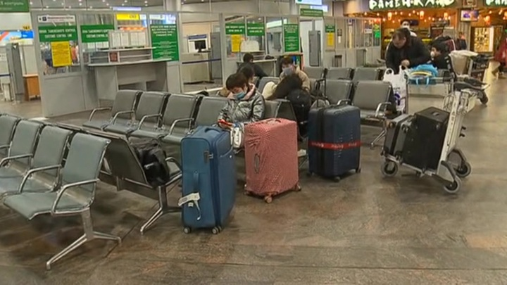 Шереметьево поставило на медицинский контроль все китайские рейсы