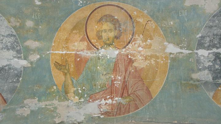 """Фрески Ферапонтова монастыря. Дионисий. """"Авель"""" 1505 г."""