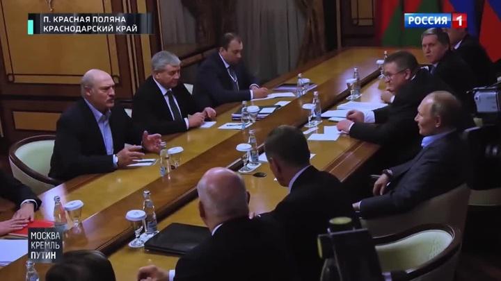 Песков объяснил поведение Лукашенко