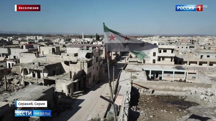 Эксклюзив из самой горячей точки Сирии: радикалы прикрываются турецкими военными