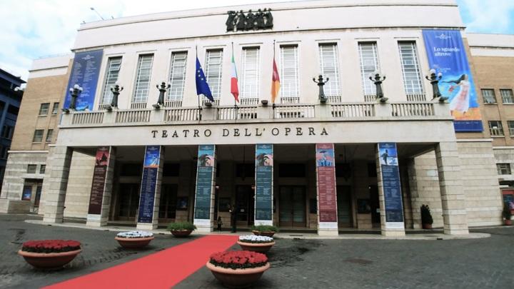 Римский оперный театр. Фото Людмилы Осиповой.