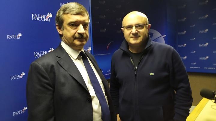 Алексей Гнедовский и Николай Мамулашвили
