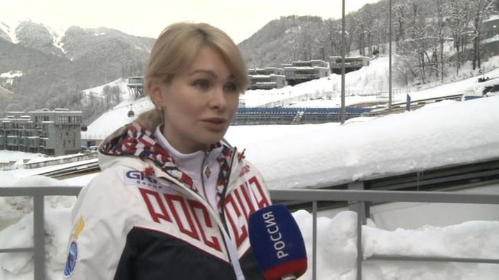 Все золото первого дня чемпионата мира по санному спорту взяла Россия