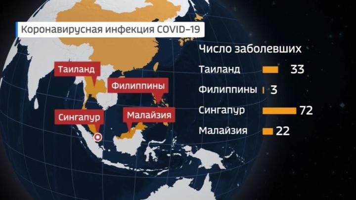 Распространение коронавируса: последние данные