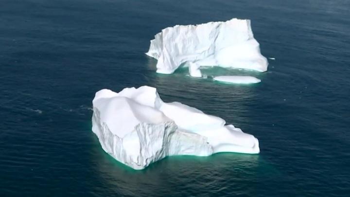 Гренландия решила продать воду с тающих из-за глобального потепления ледников