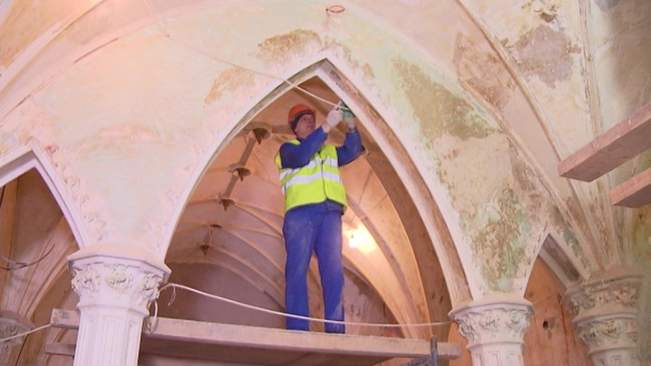 Реставрация. Специальный репортаж Зинаиды Курбатовой