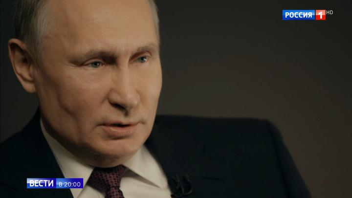 """Смена правительства, выбор премьера и """"как там Медведев"""": Путин дал необычное интервью"""