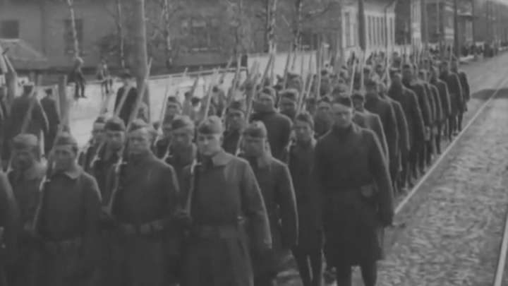 Красная армия в Архангельске
