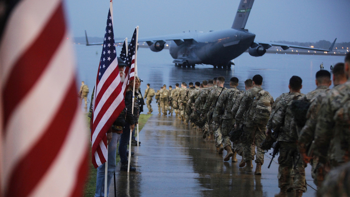 Кремль: завершение боевой миссии США в Ираке требует пристального внимания
