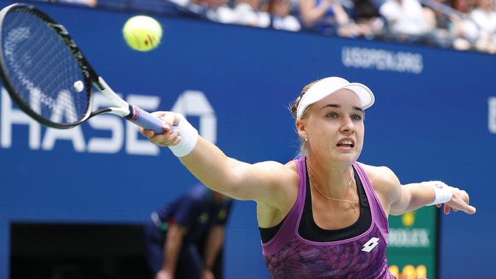 Блинкова уступила Шмидловой в первом раунде турнира в Гдыне