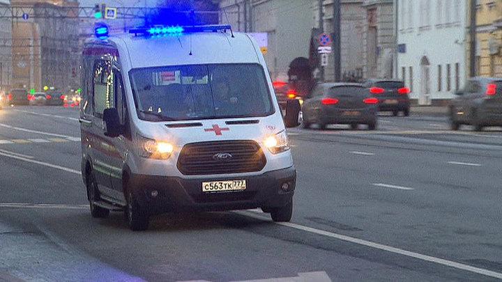 Мужчина устроил поножовщину в центре Москвы