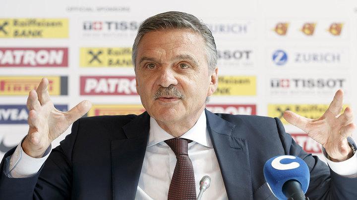 Фазель: заявку Литвы на проведение чемпионата мира не рассматриваем