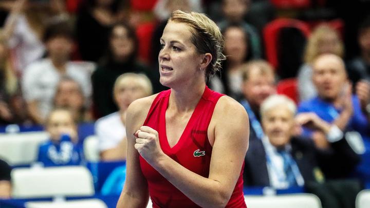 Павлюченкова пробилась в четвертьфинал турнира в Мадриде