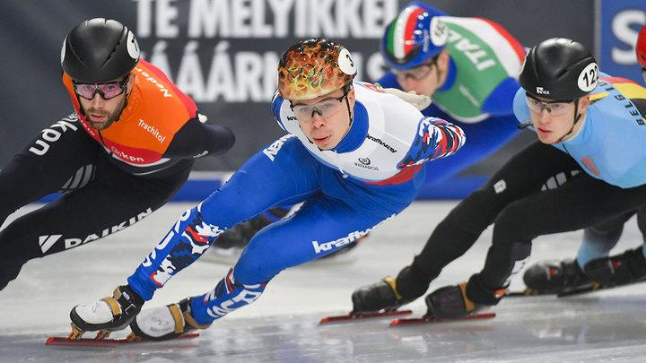 Елистратов стал бронзовым призером чемпионата мира по шорт-треку