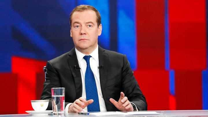 Медведев советует дождаться вменяемого руководства на Украине