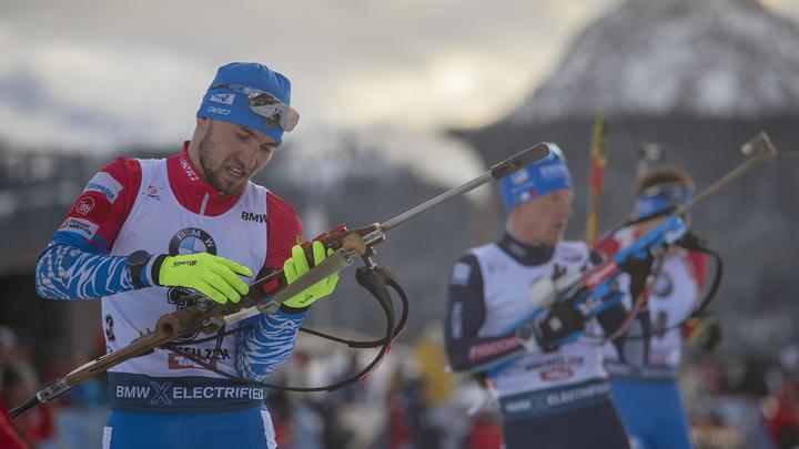 Российские биатлонисты остались вне Топ-10 этапа Кубка ...