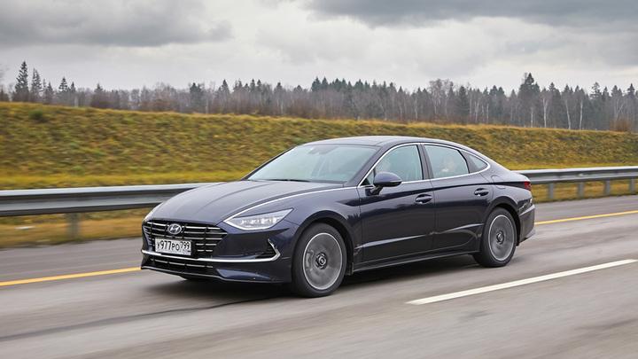 Hyundai начала в России производство седана Sonata по полному циклу