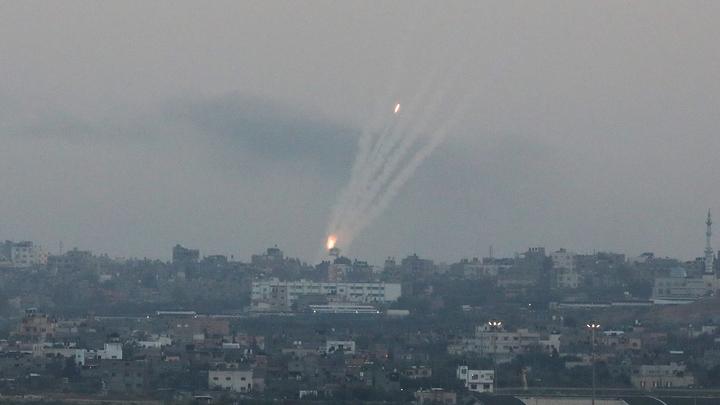 Радикалы из сектора Газа обстреляли территорию Израиля
