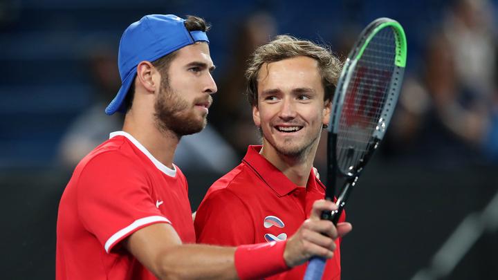 Назван состав теннисной сборной России на Олимпийские игры