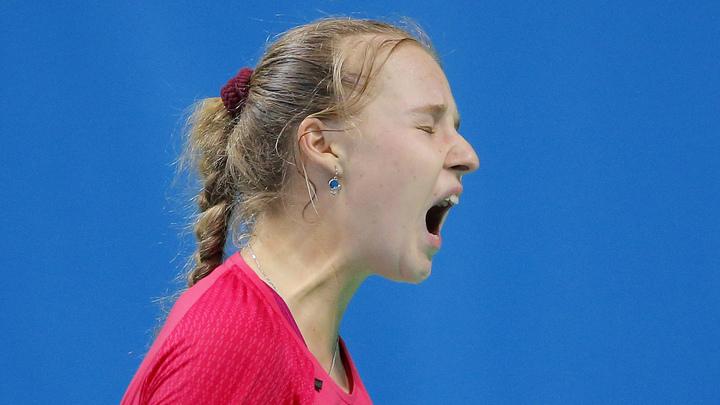 Блинкова не сумела пробиться во второй круг турнира в Страсбурге