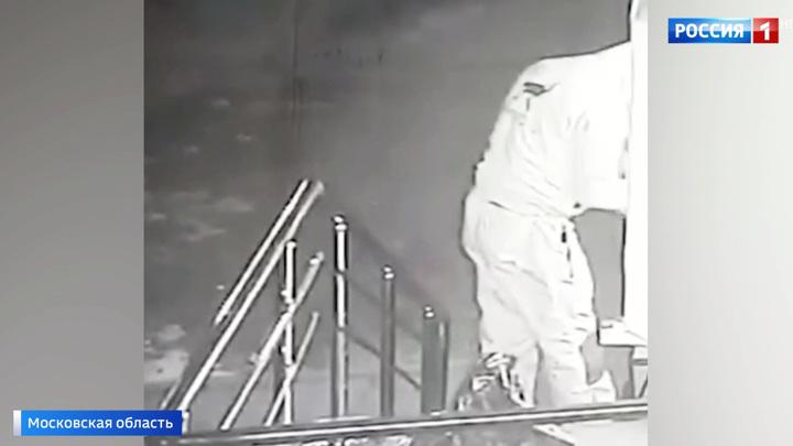 В Чехове разносчик еды взорвал банкомат