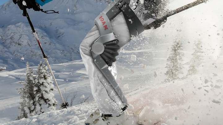 Экзоскелет для горнолыжников улучшит навыки катания