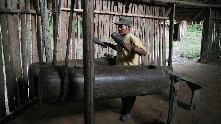 Барабаны амазонского племени бора повторяют речь своего народа
