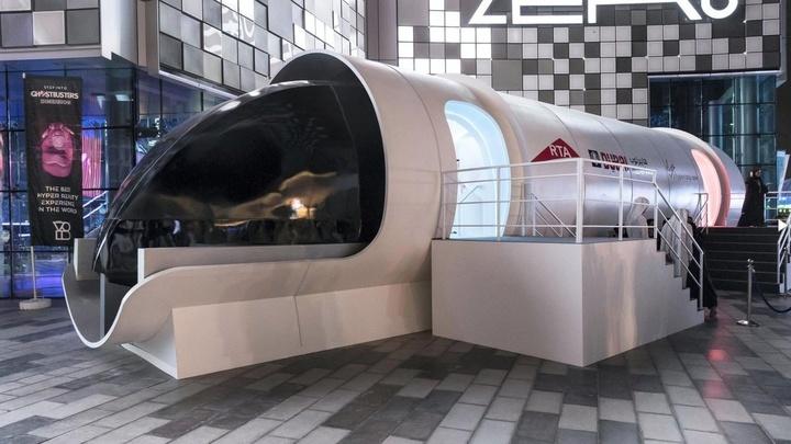 Virgin Hyperloop One представила первый прототип пассажирской капсулы