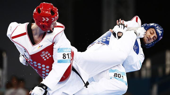 Российский тхэквондист Ларин вышел в полуфинал на Олимпиаде