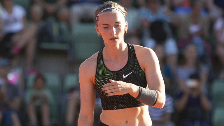Анжелика Сидорова вышла в финал в прыжках с шестом
