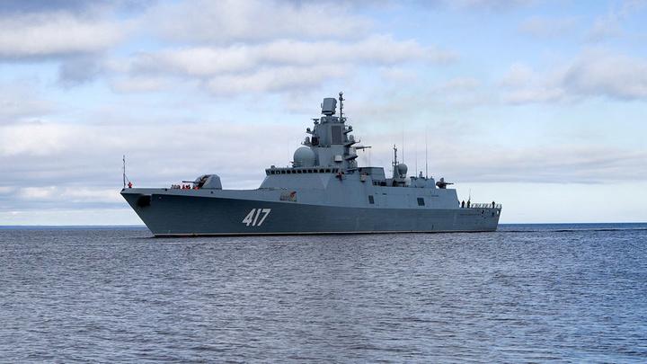 """""""Адмирал Горшков"""" запустил ракеты в Баренцевом море"""